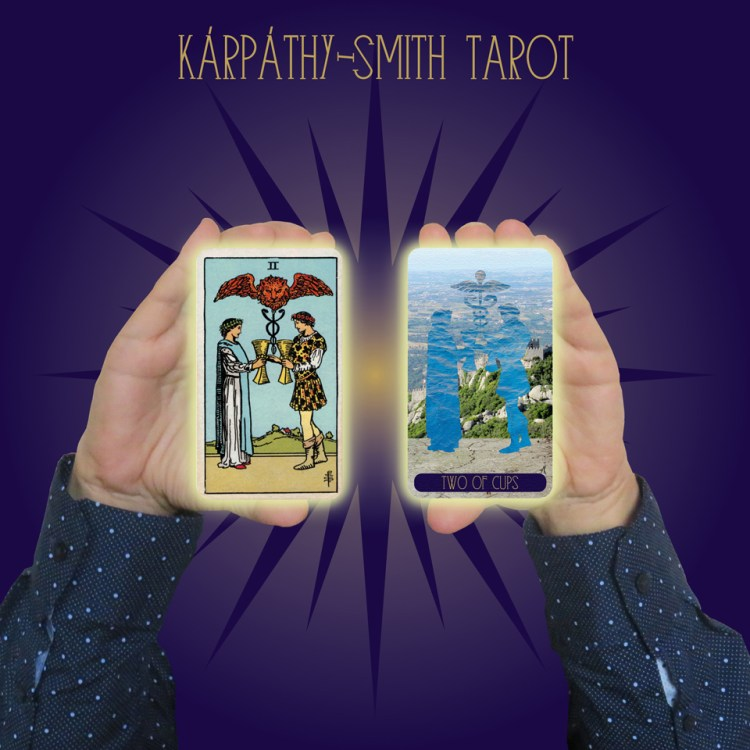 Karpathy-Smith Tarot Two of Cups