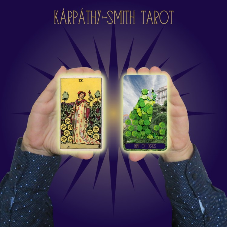 Karpathy-Smith Tarot Nine of Disks