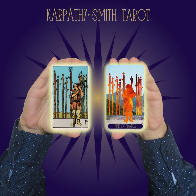 Karpathy-Smith Tarot Nine of Wands