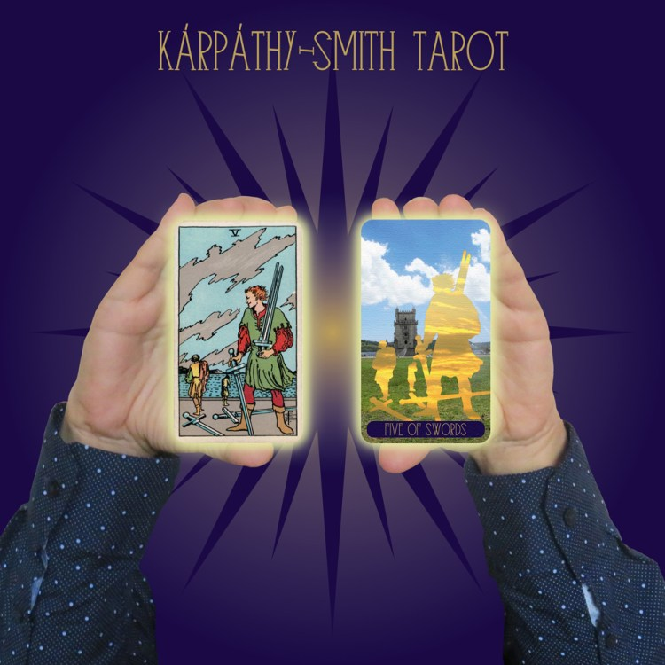 Karpathy-Smith Tarot Five of Swords