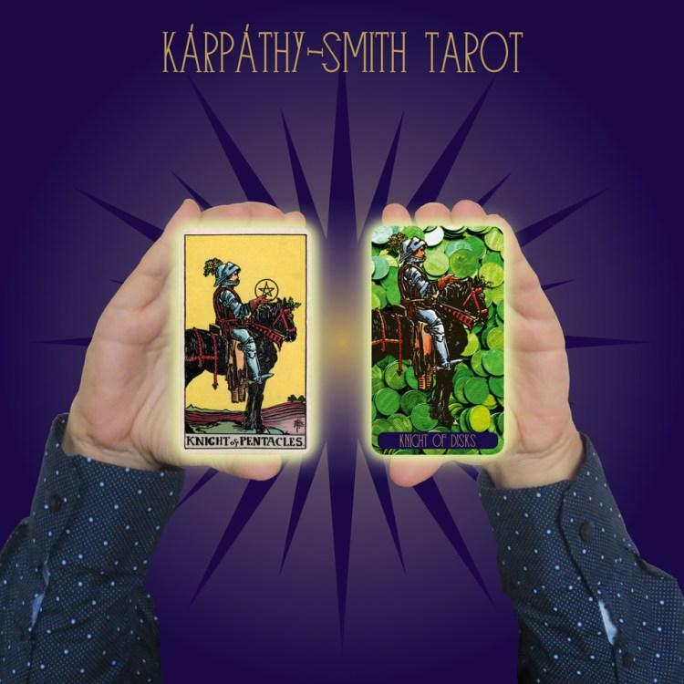 Karpathy-Smith Tarot Knight of Disks