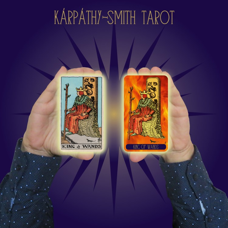 Karpathy-Smith Tarot King of Wands