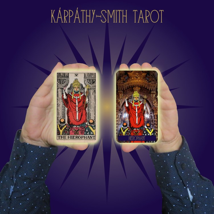 Karpathy-Smith Tarot Hierophant
