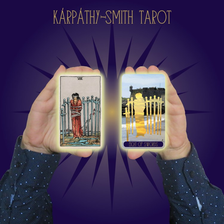Karpathy-Smith Tarot Eight of Swords