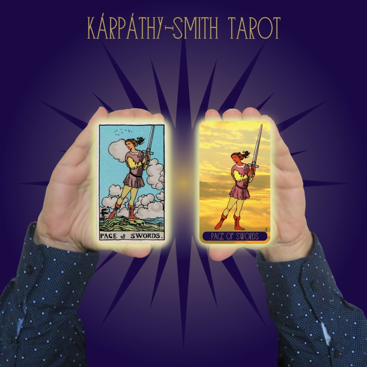 Karpathy-Smith Tarot Page of Swords