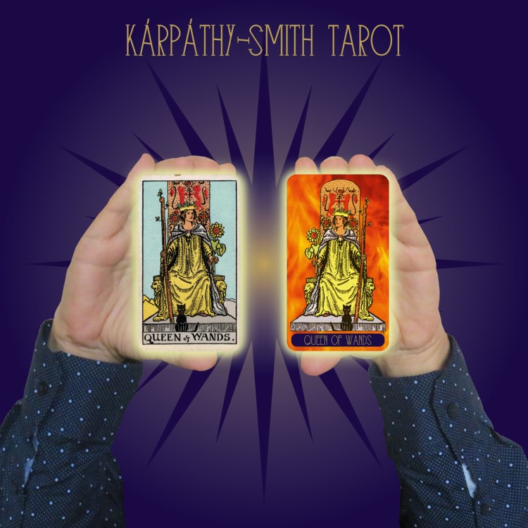 Karpathy-Smith Tarot Queen of Wands