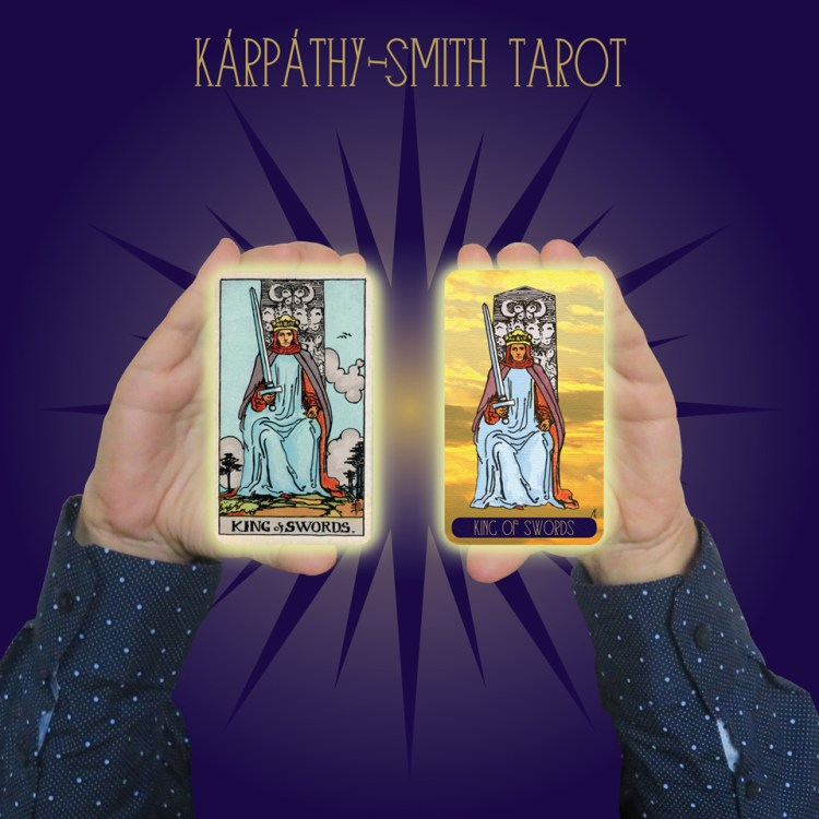 Karpathy-Smith Tarot King of Swords