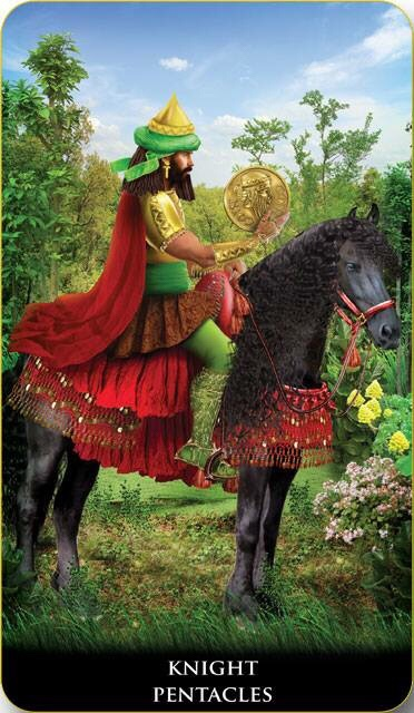 Featured Card of the Day – Knight of Pentacles – New