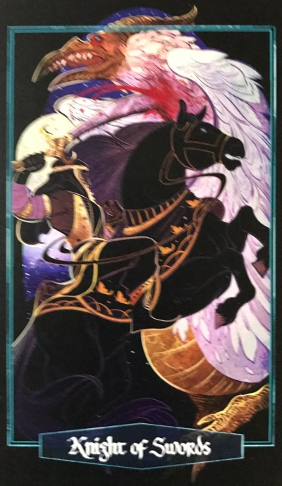 Card of the Day – Knight of Swords – Thursday, March 28