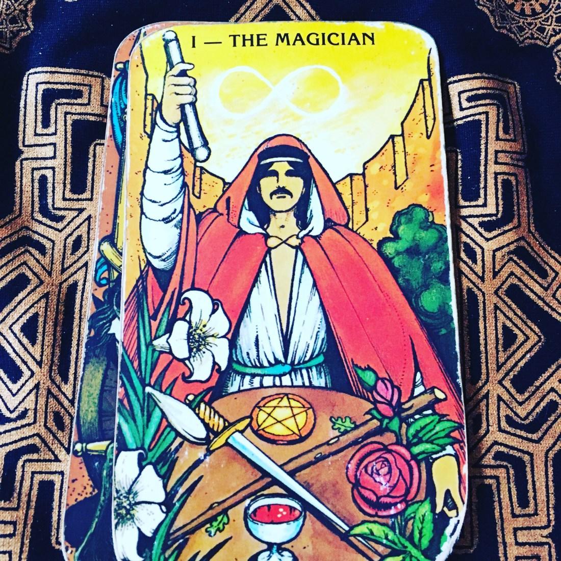 Tarot Card, The Magician, Major Arcana