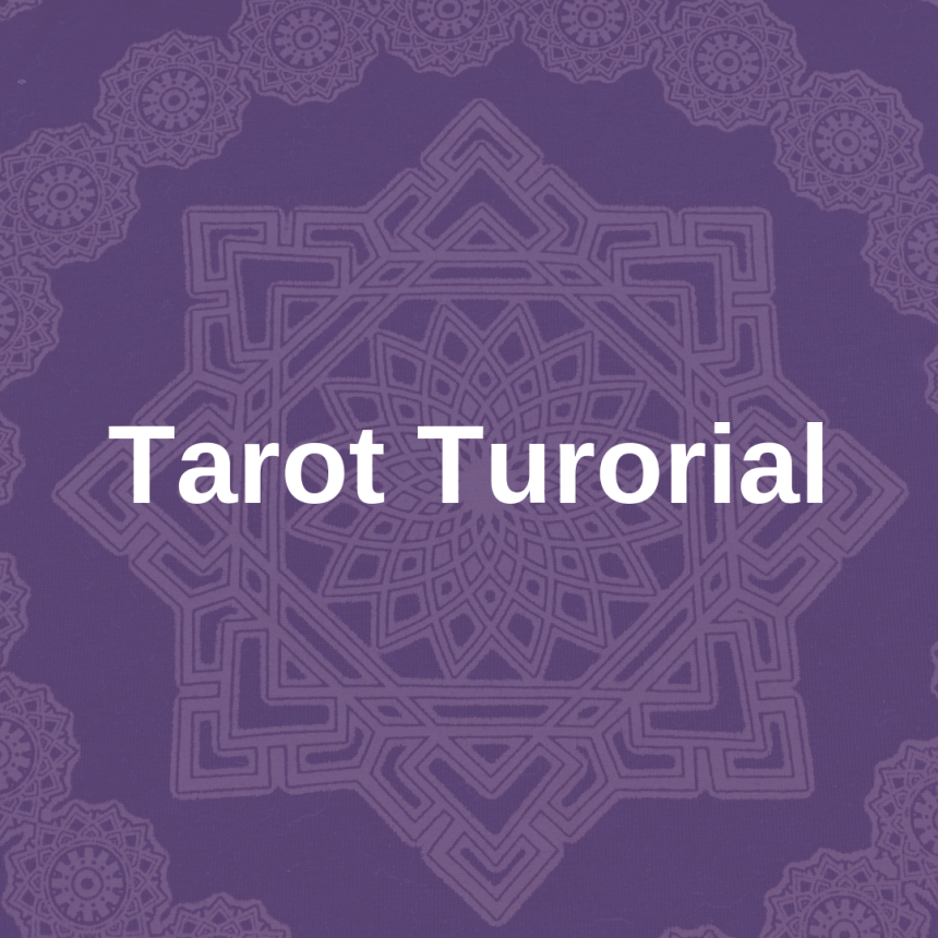 tarot tutorial