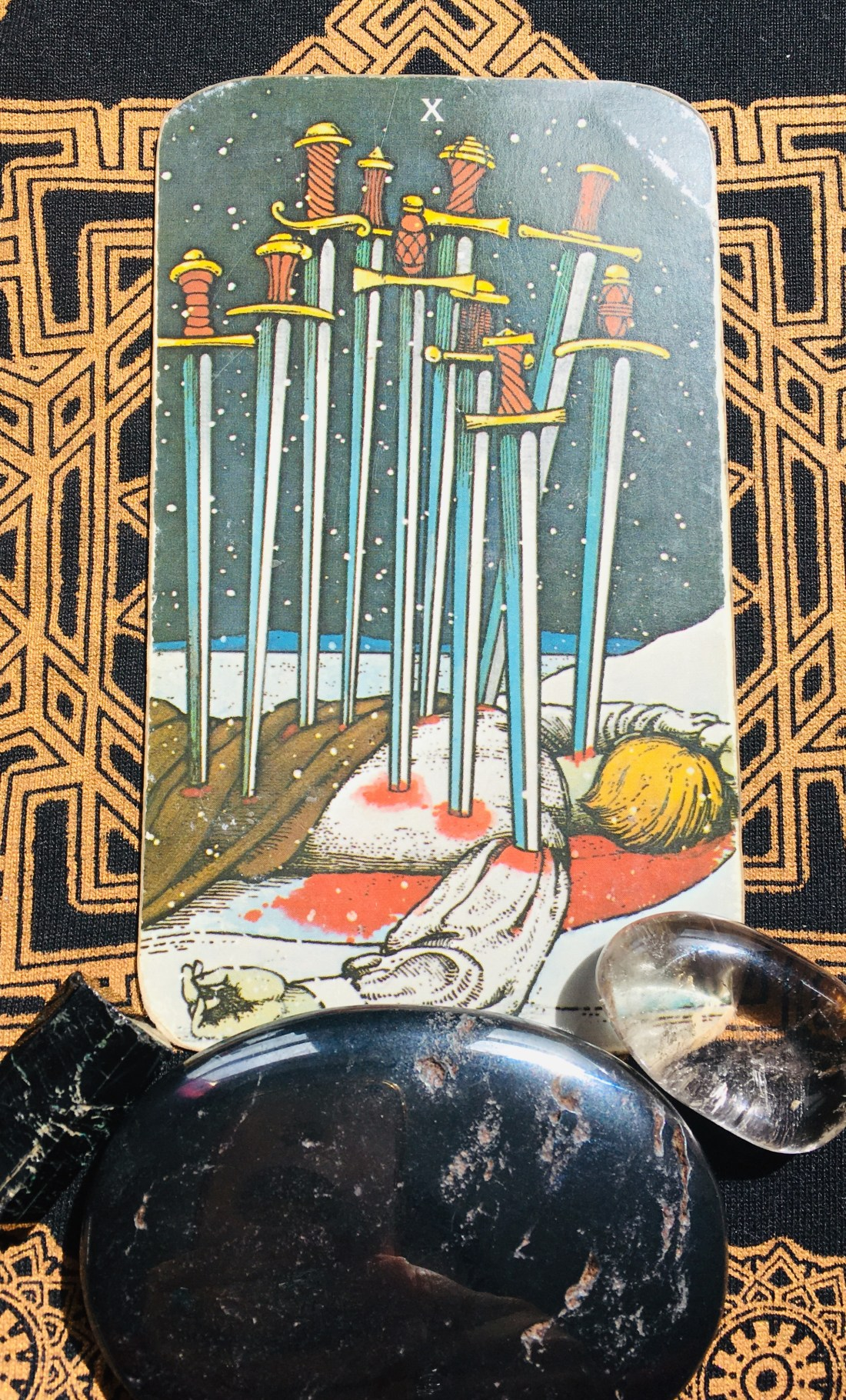 Ten of Swords, and the road to recovery