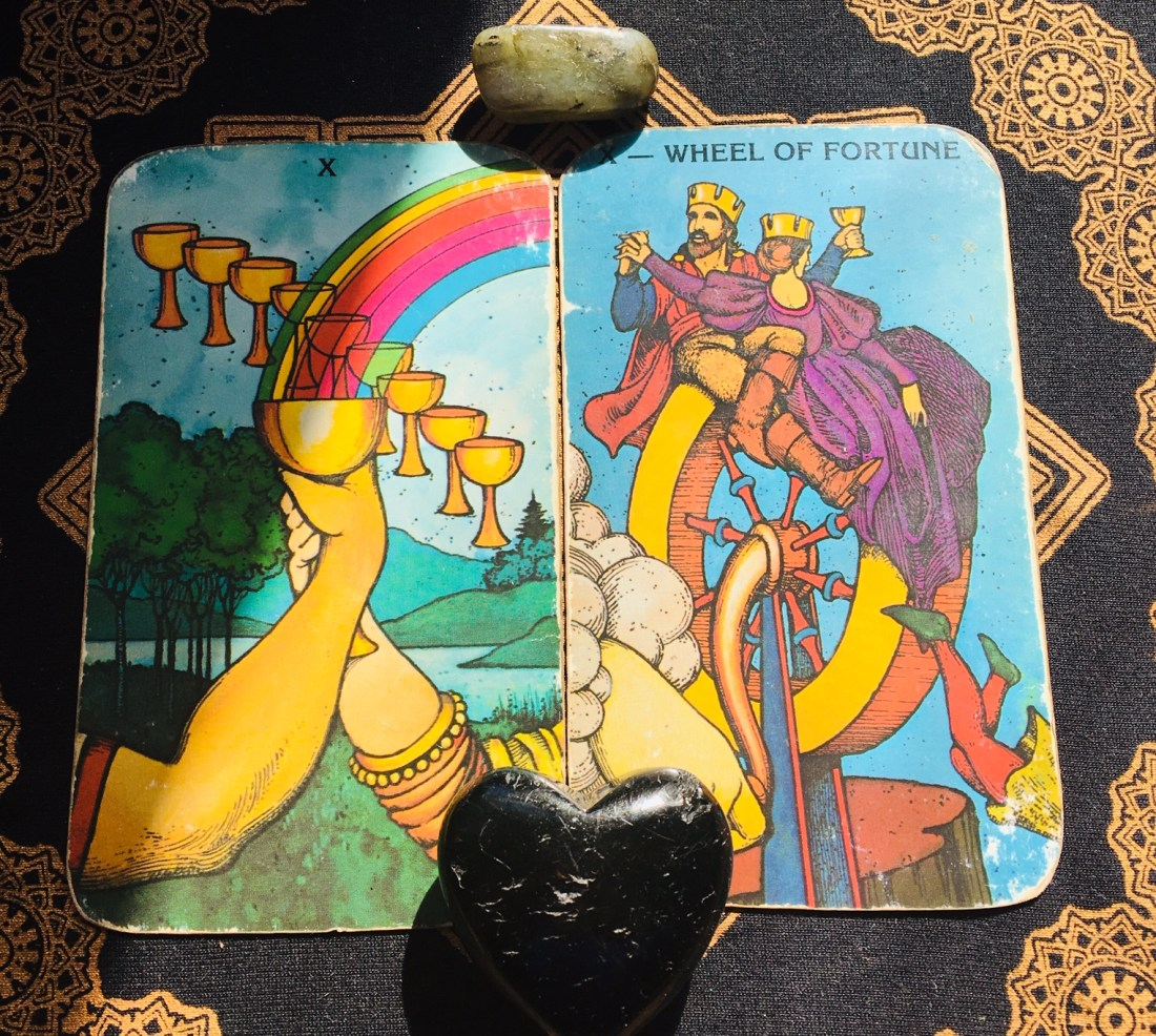 ten of cups, card of love and completion