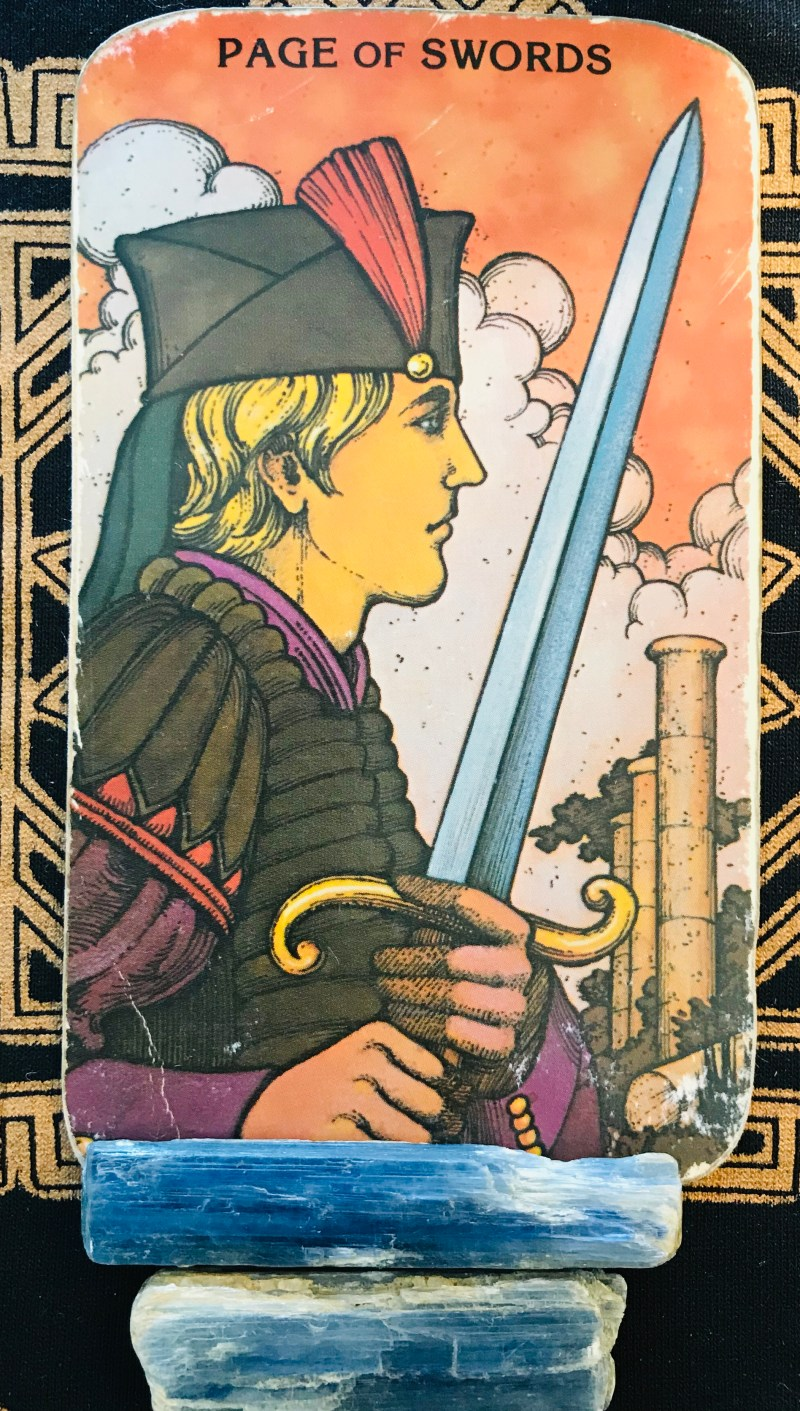 Tarot card of the week for October 26th is mental focus.