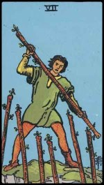 7 of wands - August 2014 Forecast