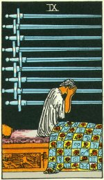 9 of swords - January 2015 Forecast