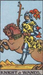 knight of wands - May 2015 Tarotscope