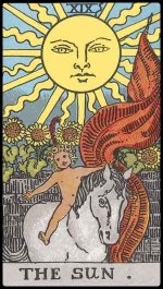 the sun - June 2015 Tarotscope