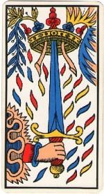 ace of swords - October 2015 Tarotscope