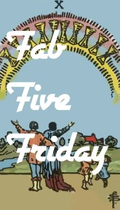 Fab Five Friday – December 4th, 2015
