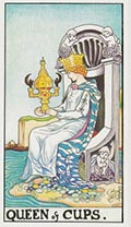 Queen of Cups Universal Rider Waite