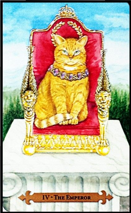 The Emperor - Mystical Cat Tarot