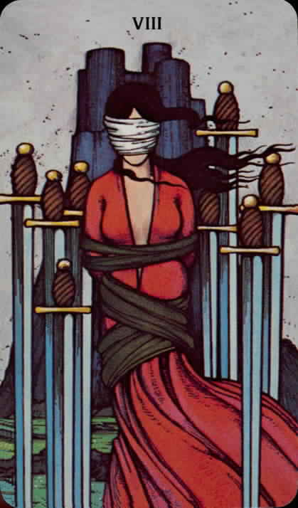 8_of_swords - Morgan Greer Tarot