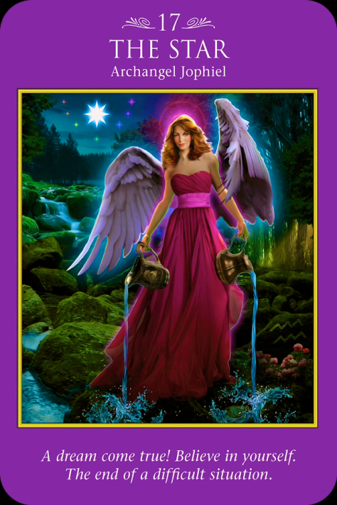 The Star - Angel Tarot