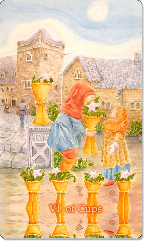 Image of The Six of Cups card