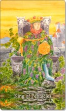 Image of The King of Pentacles card