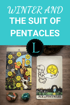 Winter and the Suit of Pentacles