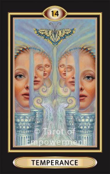 14 Temperance  Tarot of Empowerment