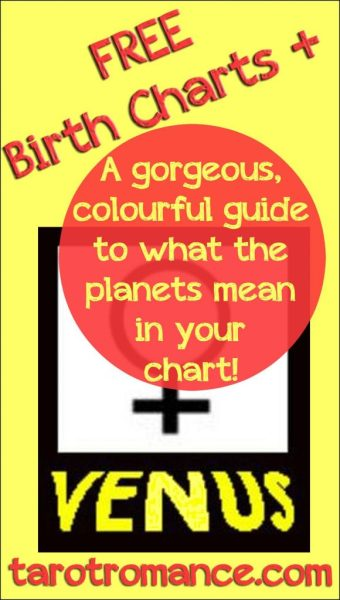 Free guide to the Planets in your Birth Chart!