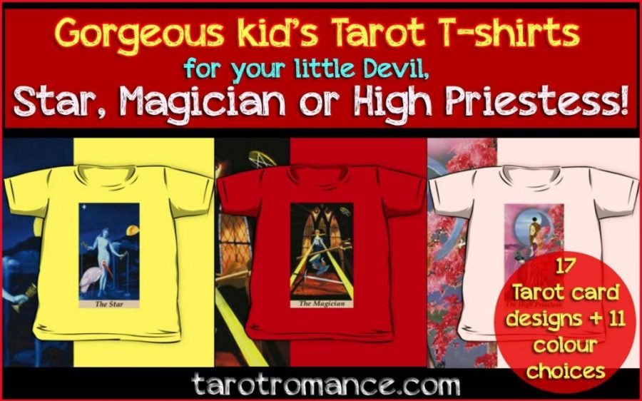 Gorgeous Tarot Tees for your little Stars and Devils