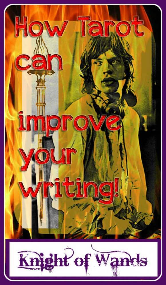 5 Remarkable Ways that Tarot can Improve Your Writing! Tarot Romance. #tarot #writingwithtarot #tarotcards #knightofwands #screenwriting #romance