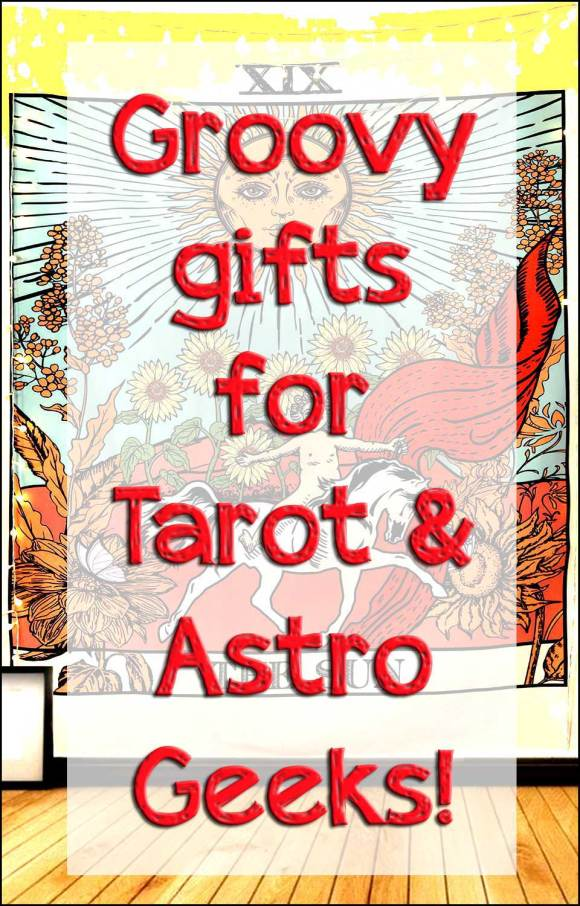 Groovy gifts for tarot & astro geeks