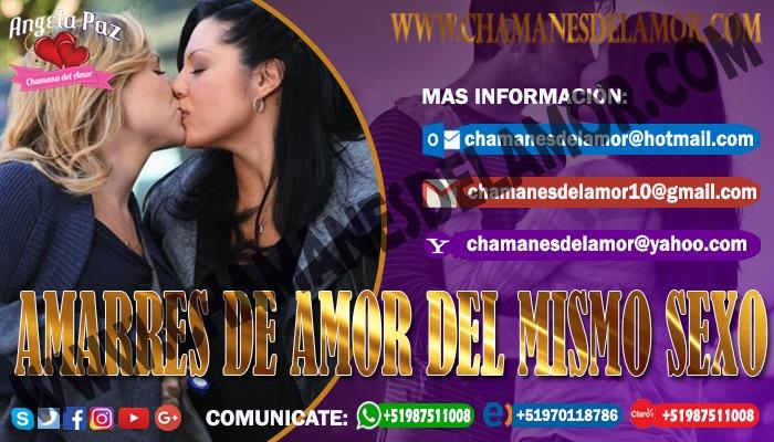 UNION DE PAREJAS DEL MISMO SEXO ANGELA PAZ +51987511008