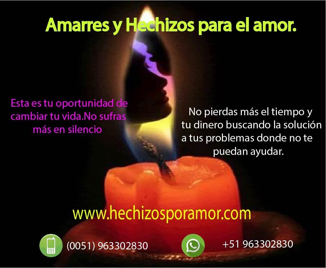AMARRES DE AMOR MAS FUERTES Y EFECTIVOS EN PERU +51 963302830