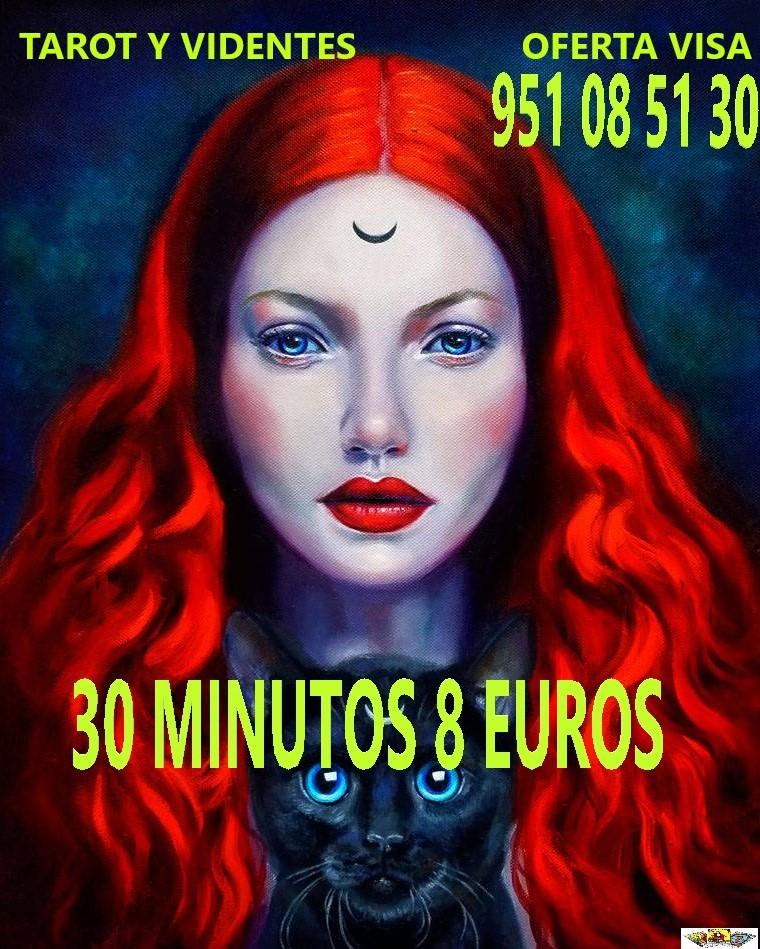 TAROT Y VIDENTES TU FUTURO AQUI 30 MINUTOS 8 EUROS