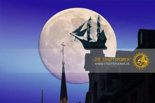 Vollmond über Hamburg - Touren zu den Kraftorten der Stadt