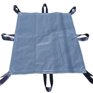 Heavy Duty Poly Tarp with seat belt handles
