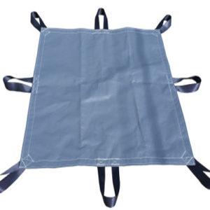 Heavy Duty Poly Tarp with seat belt handles