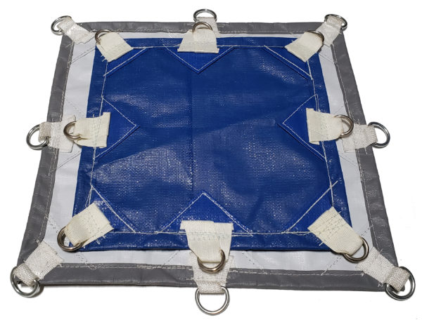Super Strong poly tarp for many uses, heavy duty and waterproof.