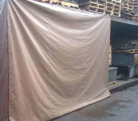 heavy duty vinyl curtain