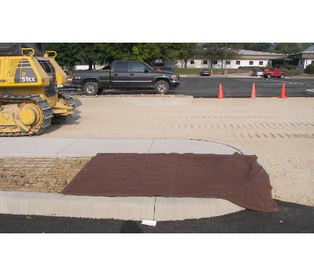 canvas construction tarp