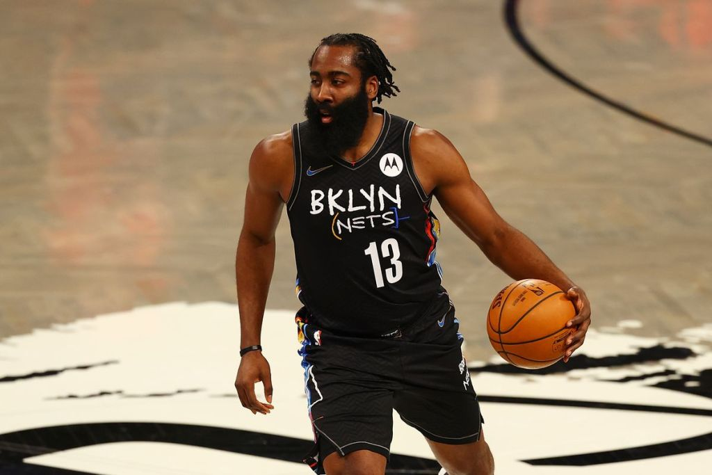 James Harden of the Brooklyn Nets