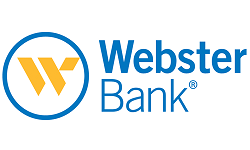 Webster Bank logo.