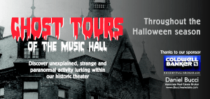 Ghost Tour Banner