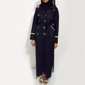 Denim-Abaya-Black-Buttoned-Style-Coat-Collar-Online