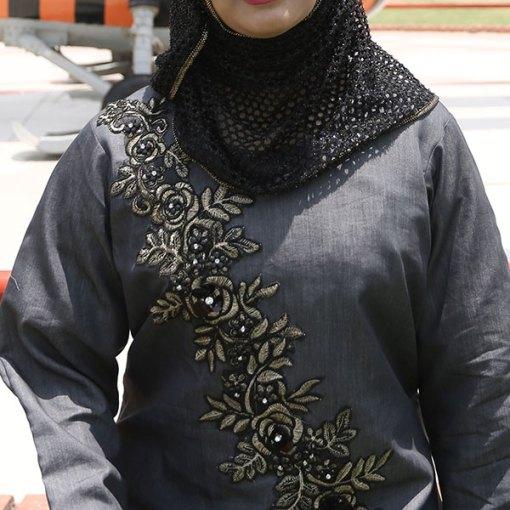 Embroidered-Abaya
